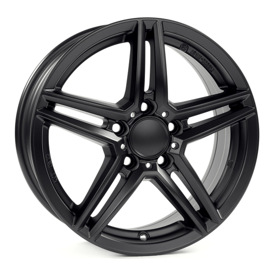 ALUTEC M10 7.5x17 5x112 ET52.5 66.5 Racing Black