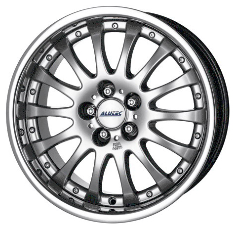 ALUTEC MAGNUM 8x18 5x114.3 ET38 70.1 Sterling Silver Stainless Lip
