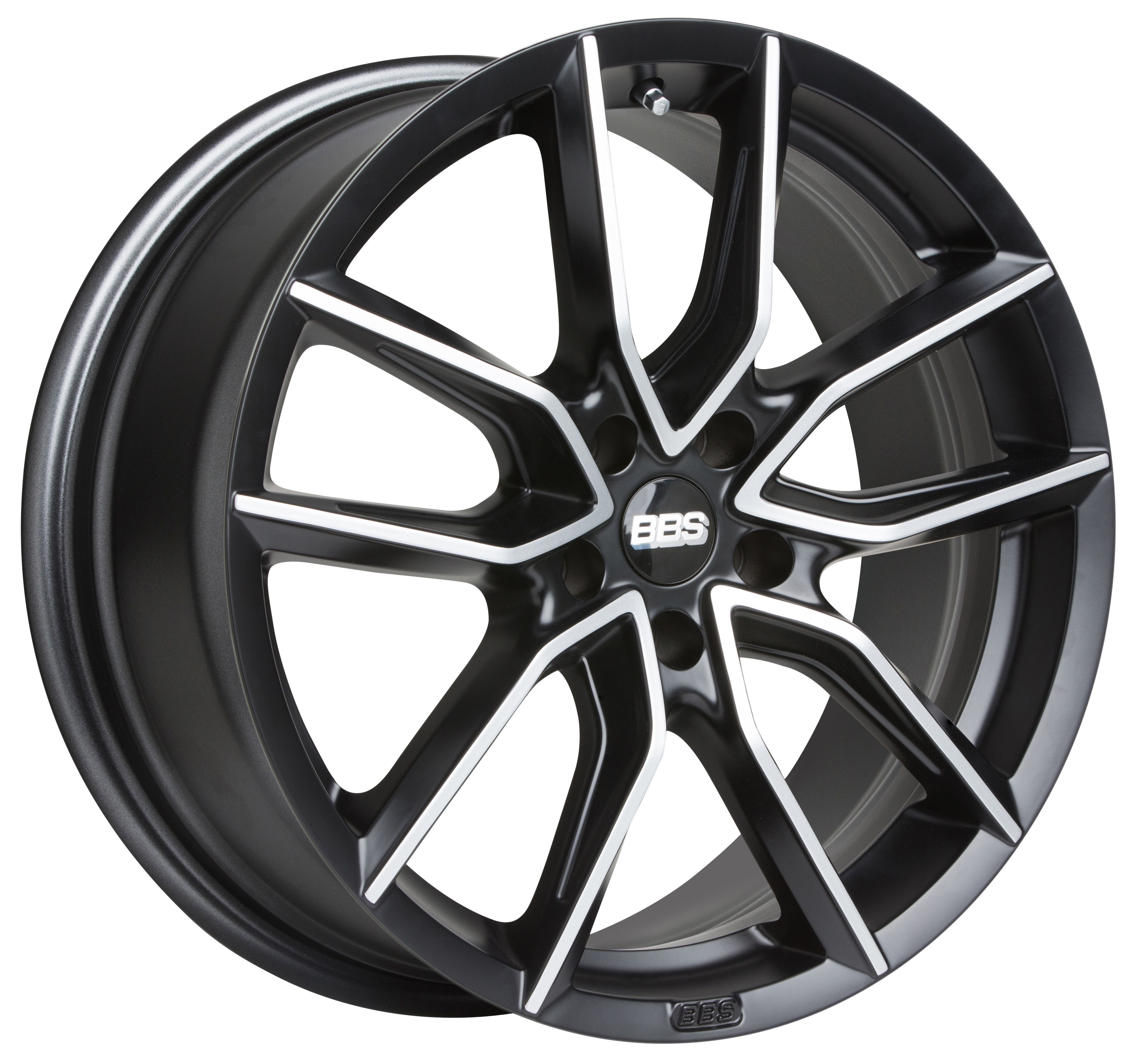 BBS XA0303 8.5x20 5x120 ET33 82 Black Diamond Cut