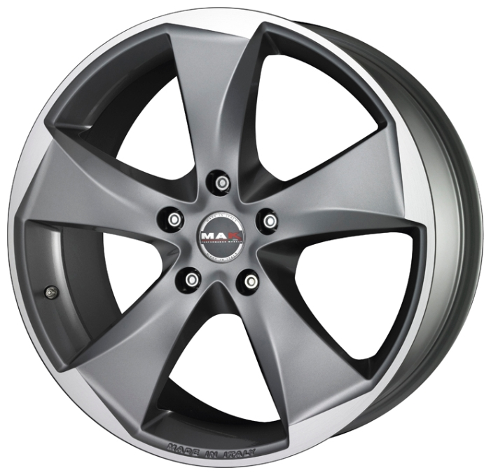 MAK Raptor 5 8.5x20 5x120 ET35 74.1 Graphite Mirror Face