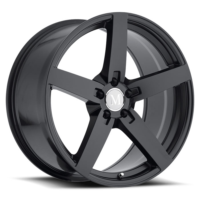 MANDRUS ARROW 8x17 5x112 ET42 66.6 Matt Black