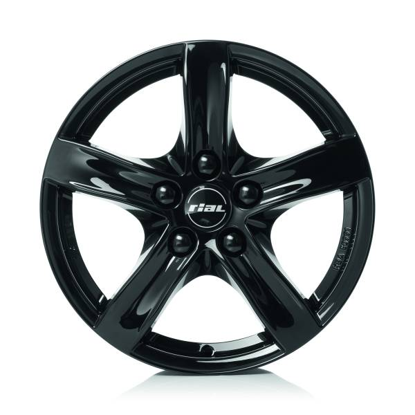 RIAL Arktis 6.5x16 5x108 ET50 63.4 Diamond Black